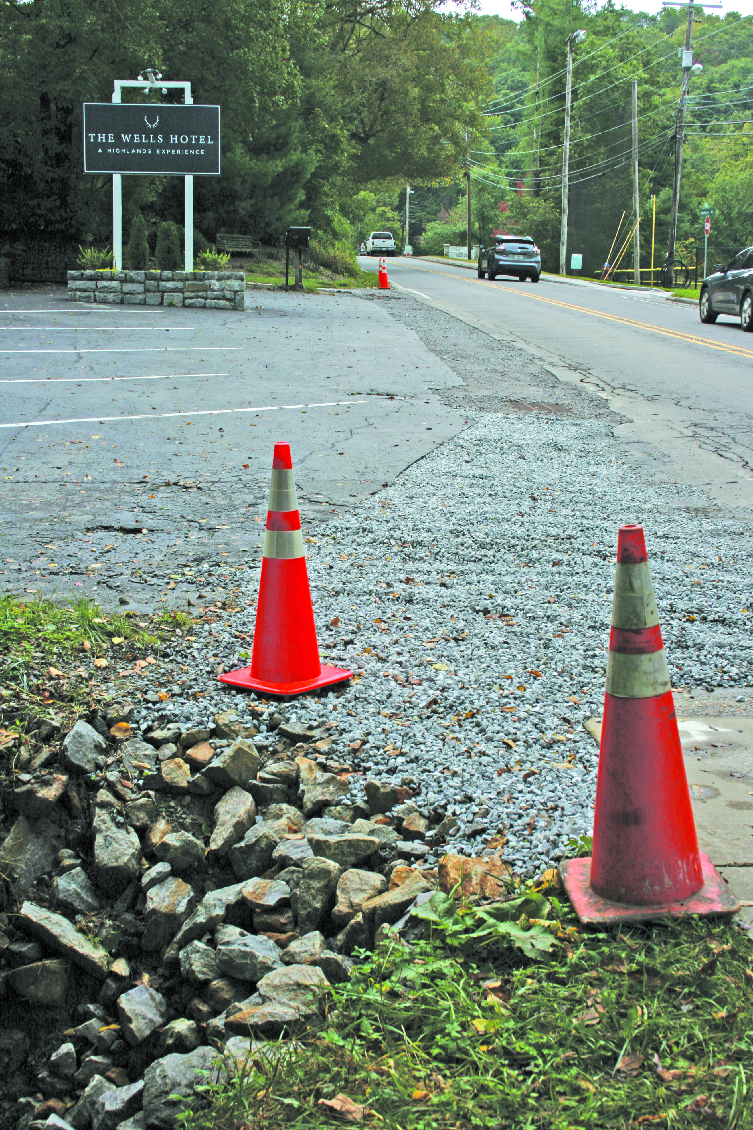 The Town of Highlands recently completed a drainage improvement project along 4th Street near the intersection of Martha's Lane.