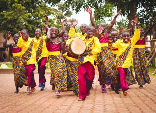 The African Children's Choir will visit Community Bible Church in Highlands on Jan. 24.