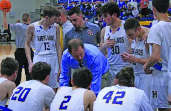 Brett Lamb will coach the boys and girls varsity basketball teams at Highlands School next season.
