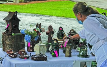 Art lovers, potters and ceramics collectors made their way to The Bascom Center for the Visual Arts on Friday and Saturday for the ninth annual Dave Drake Studio Barn Pottery Show.
