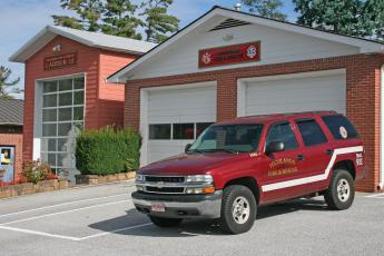 The current Highlands Fire Department station on Oak Street has been added on to multiple times. The new fire station, on Franklin Road, will be large enough to house all the fire department equipment under one roof and accommodate 24 hour staff coverage.