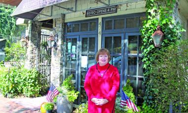 Mindy Green, owner of Wolfgang's on Main Street in Highlands has been in the restaurant business for more than 26 years.