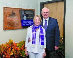 The WCU Honors College has been named for Jack and Judy Brinson, of Highlands.