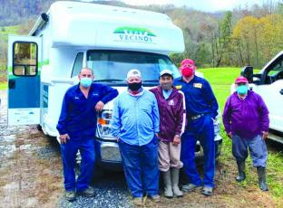 Vecinos' mobile clinic has served Spanish-speaking farm workers at area Christmas tree farms during the holiday season.