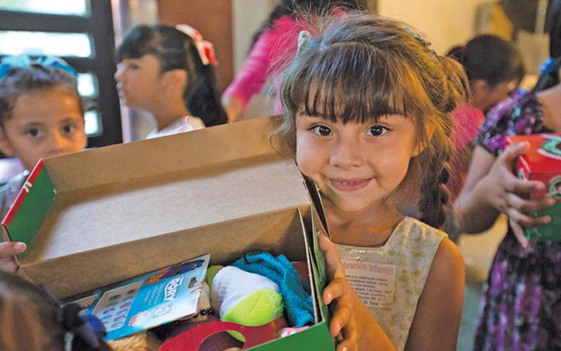 For children around the world, receiving a shoebox from Operation Christmas Child can be a life-changing experience.