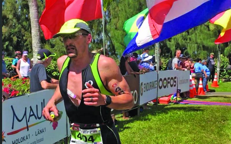 Highlands resident Charlie Ledford posted a 3:09:14 time in the X-Terra Off-Road Triathlon World Championships in Kapalua, Hawaii in October, finishing seventh in his age group.