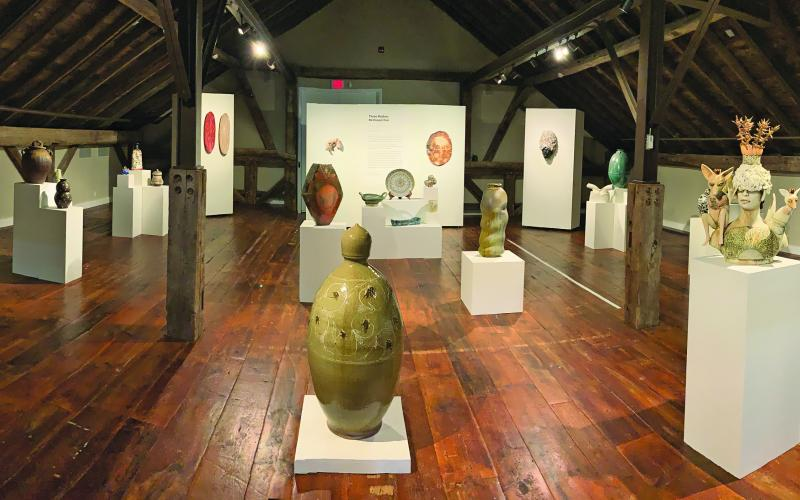 The Three Potters is one of three new exhibits featured in The Bascom's virtual tours.