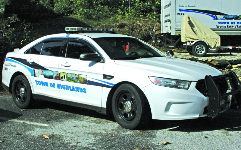 The Highlands Police Department will replace a wrecked 2015 Ford cruiser with a new 2020 Ford Explorer SUV.