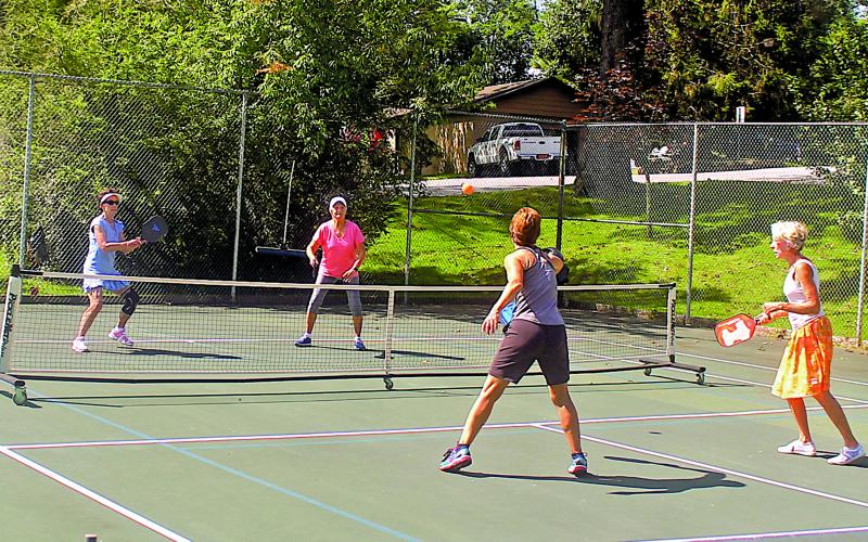 Pickleball is among the fastest growing sports in America and the pastime has a healthy following in Highlands.
